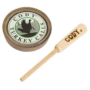 Cody II Glass Call by CODY TURKEY CALLS LLC