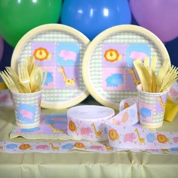 Safari Baby Shower Plates