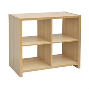 4 cube storage unit oak living room furniture for Ok furniture kitchen units