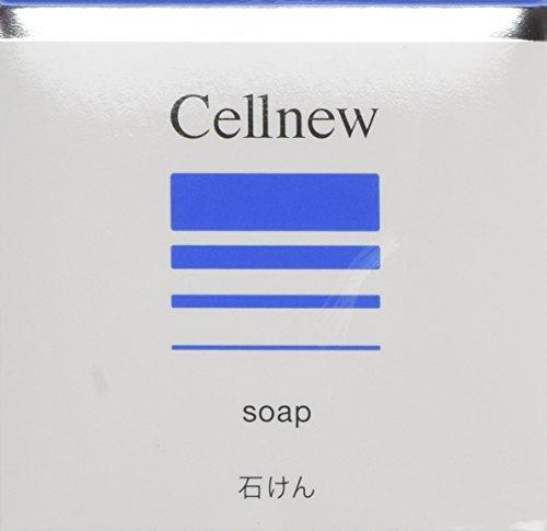 セルニュー ソープ 80g [CN]【洗顔石鹸・洗顔せっけん】