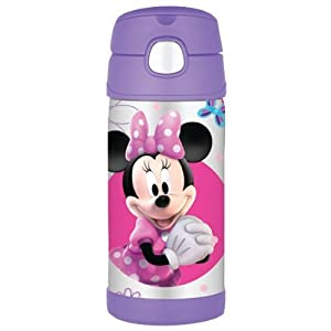 Thermos F4011mm6 12-oz Capacity Minnie Mouse Funtainter Bottle