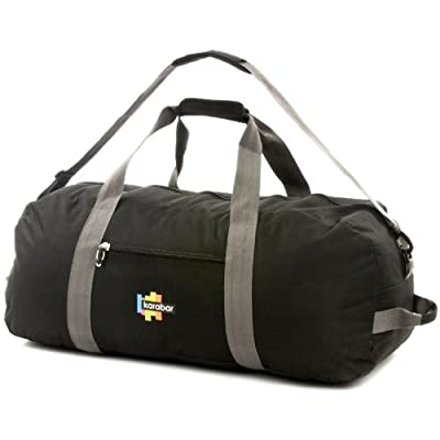 Karabar Extra Large 100 Litre Cargo Bag (Black/Grey)
