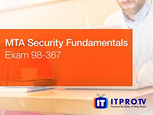 MTA Security Fundamentals Exam 98-367