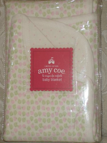 Limited Edition Amy Coe Baby Blanket Le Cirque des Enfants Tiny Applause - 1