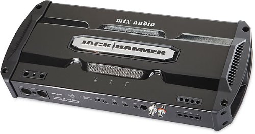 MTX Audio JH404 800W Max, 4-Channel Jack Hammer Series Car Audio Amplifier (Jack Hammer 12 compare prices)