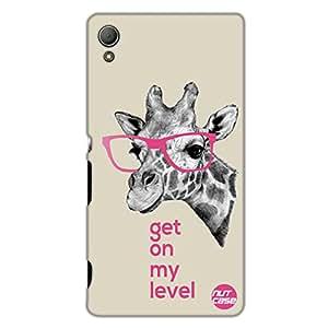 Designer Sony Xperia Z3 Case Cover Nutcase-Girrafe Philosophy