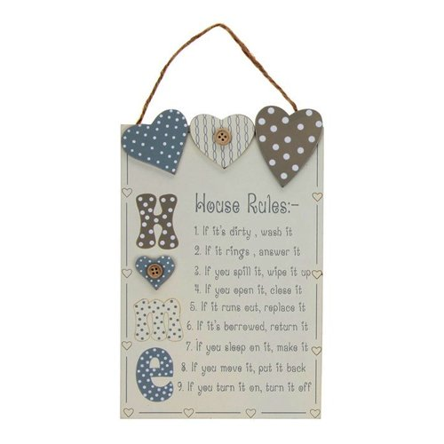 house-rules-wall-hanging-wood-sign-plaque-hearts-button-decoration