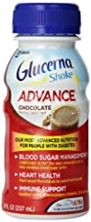 Glucerna Advance Shake Chocolate 8-Ounce 4 Count Pack of 4