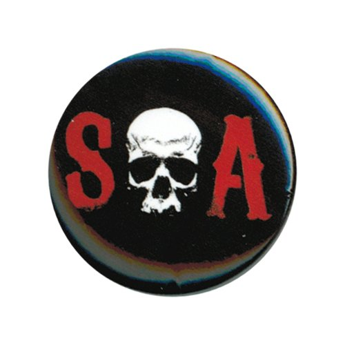 Sons Of Anarchy S Skull A Button by Animewild