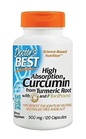 Doctor's Best Curcumin C3 Complex