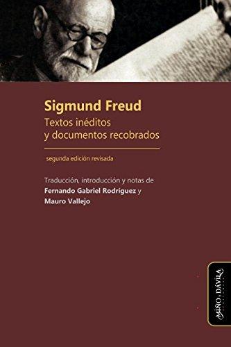Sigmund Freud. Textos ineditos y documentos recobrados  [Freud, Sigmund] (Tapa Blanda)