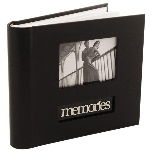 Memories Bookbound Photo Album, Black