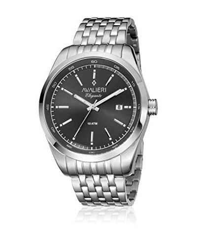 Avalieri Reloj de cuarzo  Plateado / Negro 44 mm