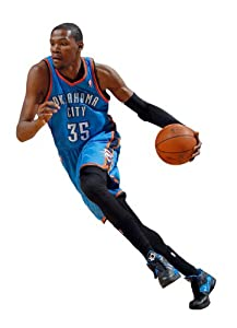 Kevin Durant - Oklahoma City Thunder 2012 Fathead Wall Decal by Fathead