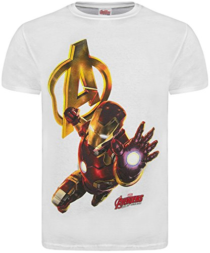 maglietta-ufficiale-marvel-avengers-2-age-of-ultron-attack-con-logo-nero-iron-man-white