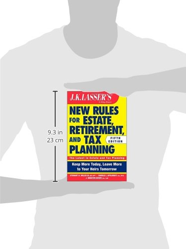 Jk Lasser S New Rules For Estate Retirement And Tax