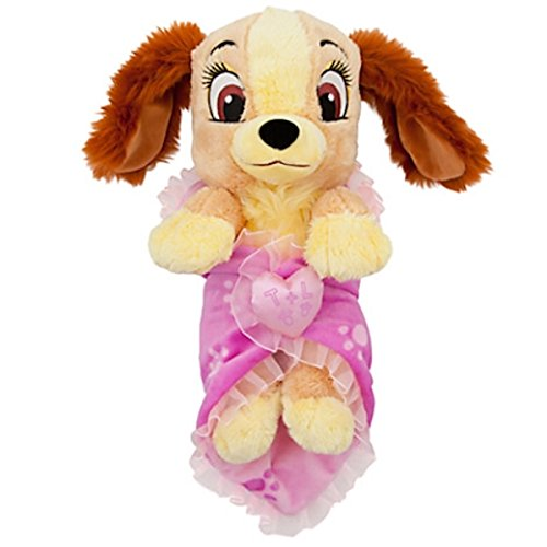 Disney Baby Lady from Lady and the Tramp in a Blanket Plush Doll