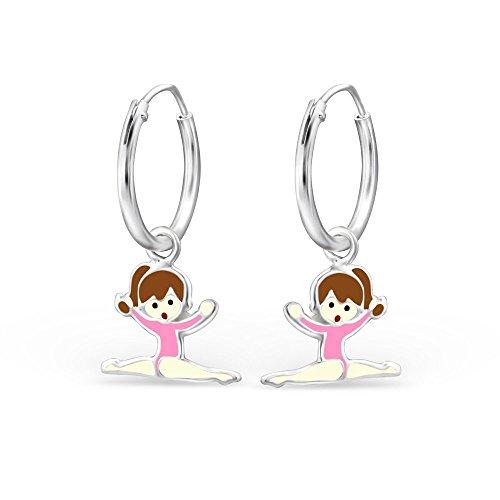 justaucorps-gymnastique-fille-avec-rose-boucles-doreilles-femme-creoles-argent-925-1000