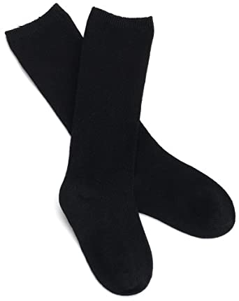 47f784688 Jefferies Socks Girls Organic Cotton Knee High 3-Pack