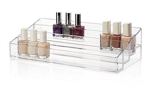 Multi-Level Premium Quality Plastic Nail Polish Organizer   Bella Collection (Lucite Polish compare prices)