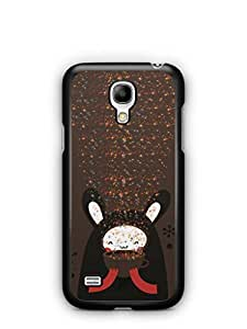 YuBingo Cute Bear Mobile Case Back Cover for Samsung S4 Mini