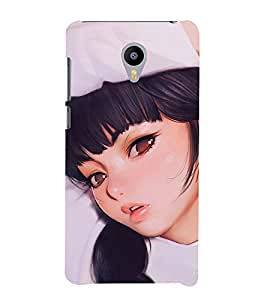 EPICCASE beautiful nurse Mobile Back Case Cover For Meizu M2 (Designer Case)