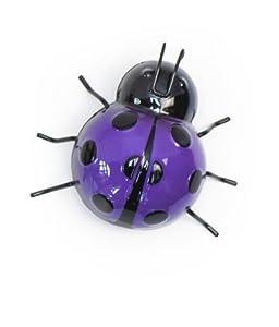Fountasia International 93619 Small Ladybird Wall Art - Purple from Fountasia International Ltd