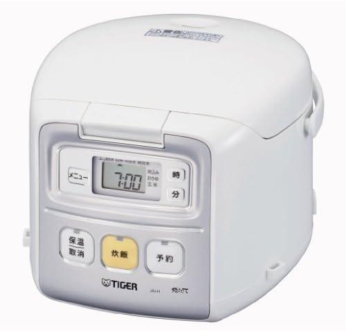 TIGER マイコン炊飯ジャー <炊きたてミニ> (3合炊き) ホワイト JAI-H550-WU