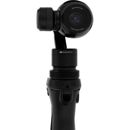 DJI CP.ZM.000219 Osmo Stabilizzatore (gimbal) a 3 assi portatile dotato di telecamera, 4K, 12 megapixel