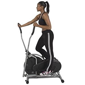 Buy Elliptical Bike Fitness Exercise Trainer Machines Ideal Cardio Home Gym Workout by Best Choice Products