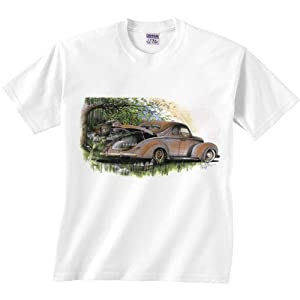 Moonshiners Car T-Shirt Classic Coupe Moonshine Vehicle Shirt