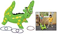 Fun Express Inflatable Alligator Ring…