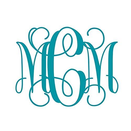 vine-monogram-wall-decal-monogram-wall-decal-nursery-three-sizes-12-inch-18-inch-monogram-22-inch-mo