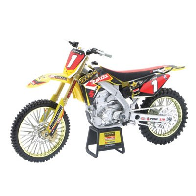 New Ray Chad Reed RMZ450 Motorcycle Model 1:12 Scale