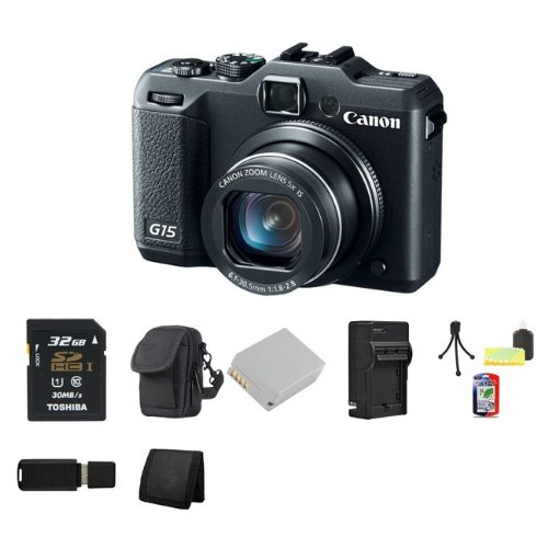Canon PowerShot G15 Digital Camera Reviews