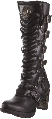 New Rock Women's M.TR004-S1 Platform Boot Itali Black 6 UK