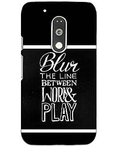 Motorola Moto G4 Play Back Cover Designer Hard Case Printed Cover