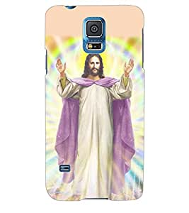 ColourCraft Lord Jesus Back Case Cover for SAMSUNG GALAXY S5 NEO
