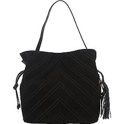 Vince Camuto Nella Hobo Shoulder Bag, Black, One Size
