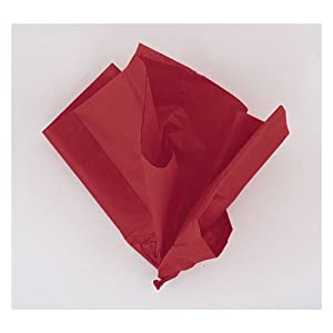 Red Tissue Sheets, Pack of 10
