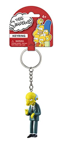 Fox The Simpsons Montgomery 3D PVC Key Ring - 1
