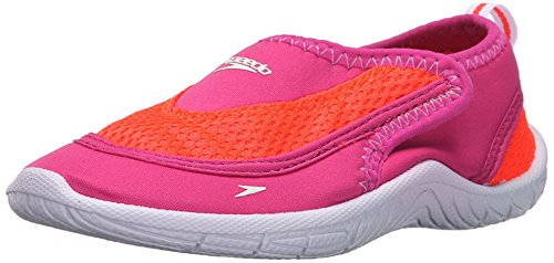 Speedo Surfwalker Pro 2.0 Water Shoes (Toddler), Pink/White, 6/7 US Toddler