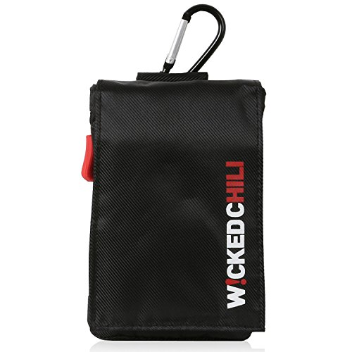 Travel Case für Teasi one3   one2   one   Pro Pulse und SMAR.T Power - Tasche für Wander   Fahrrad Navigationsgeräte mit zusätzlichen aufbewahrungsfächern für Zubehör