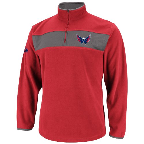 NHL Mens Washington Capitals Athletic Red/Storm