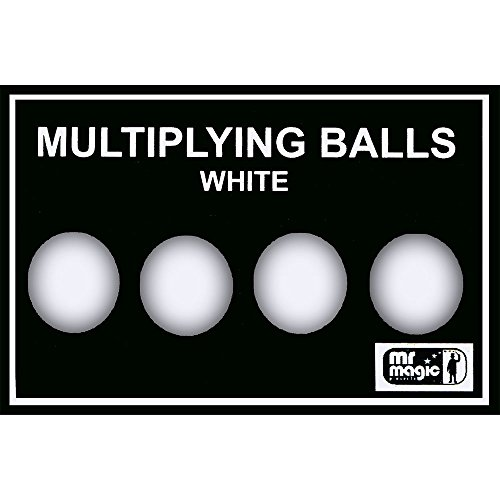 MMS Multiplying Balls (White Plastic) by Mr. Magic - Trick