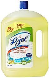 Lizol Disinfectant For Cleaner Citrus, 2 L