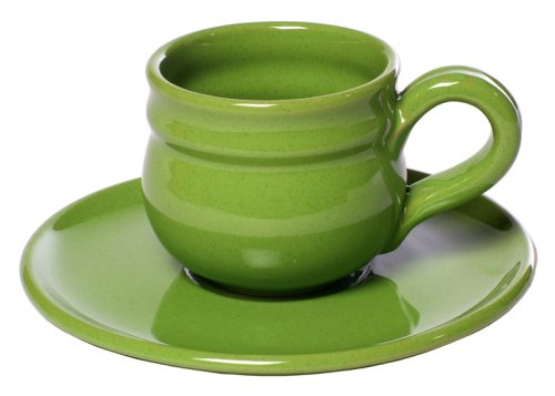 Mamma Ro Breakfast Cup and Saucer, Apple