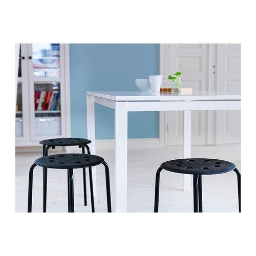 IKEA MARIUS - Taburete, negro