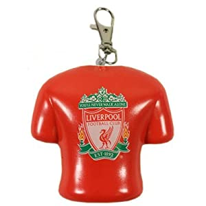 Liverpool FC Bag Charm Stress Reliever Shirt - Official Merchandise from RetailZone