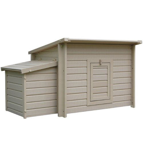 ecoFLEX Fontana Barn (Snap Lock Chicken Coop compare prices)